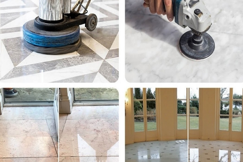 Floor Polishing (Marble, Wooden & Tiles)