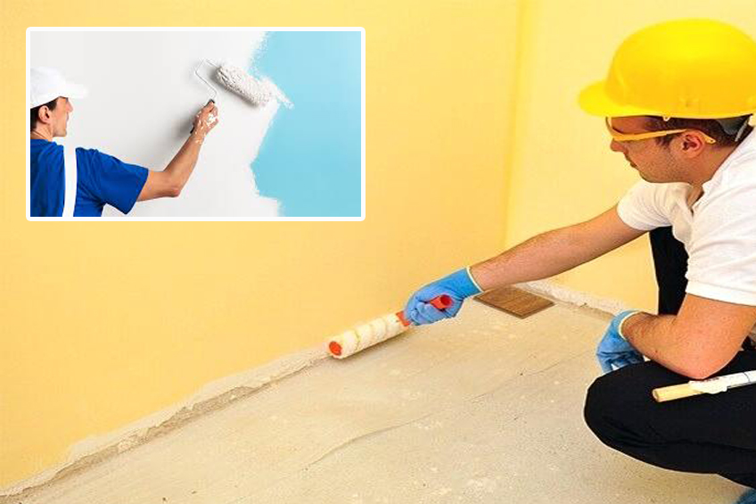 Wall Painting Service (Interior & Exterior)