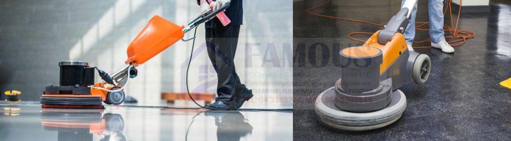 Vinyl Floor Polishing Dubai